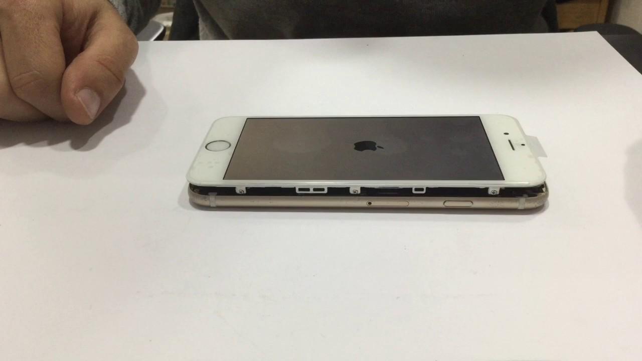 מדהים החלפת מסך לאייפון 6 | תיקון מסך iPhone 6 Screen Replacment OE-05