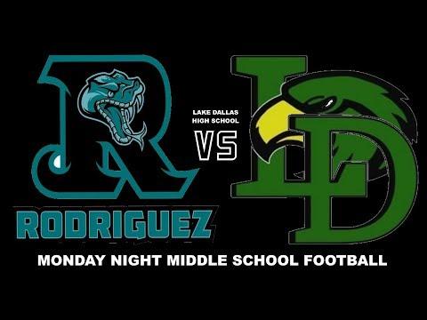 2017 LDMS B TEAM VS RODRIQUEZ @ LAKE DALLAS HIGH SCHOOL