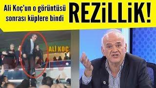 Ahmet Çakar G.Saray yenilgisi sonrası faturayı Ali Koça kesti