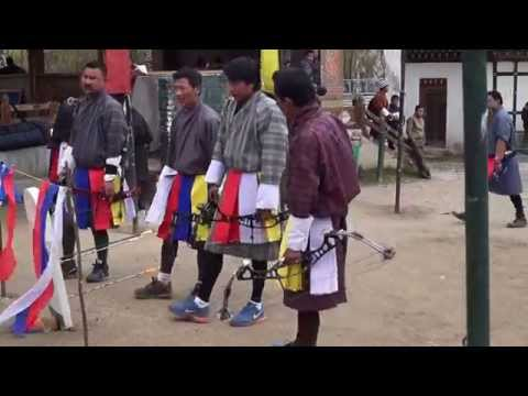 Archery - Bhutan's national sport
