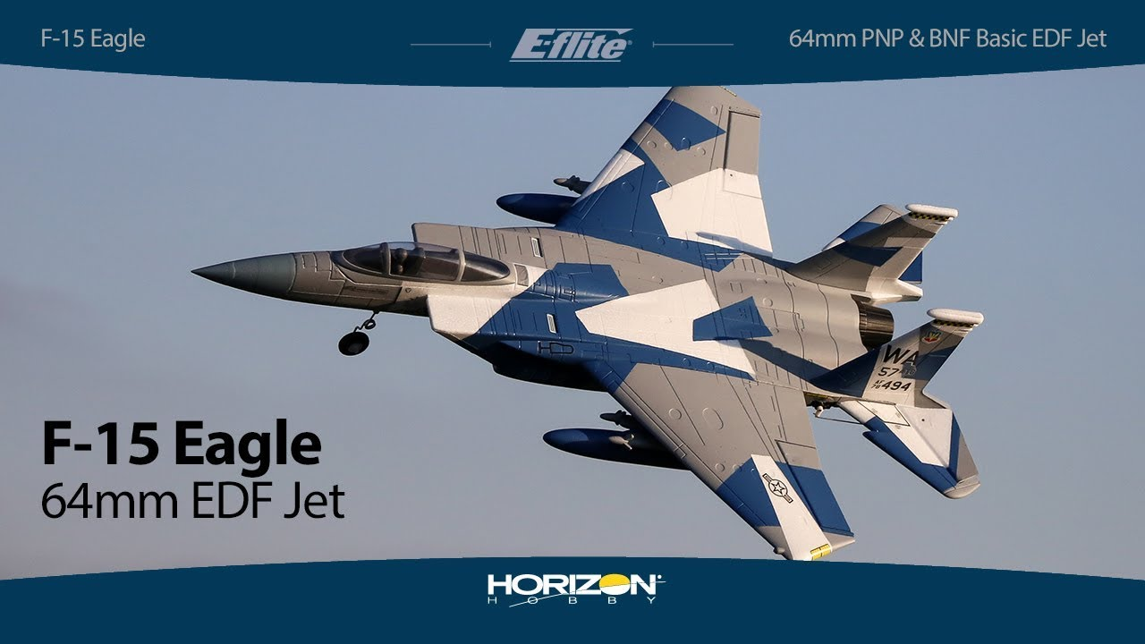 E-flite F-15 Eagle 64mm EDF BNF …