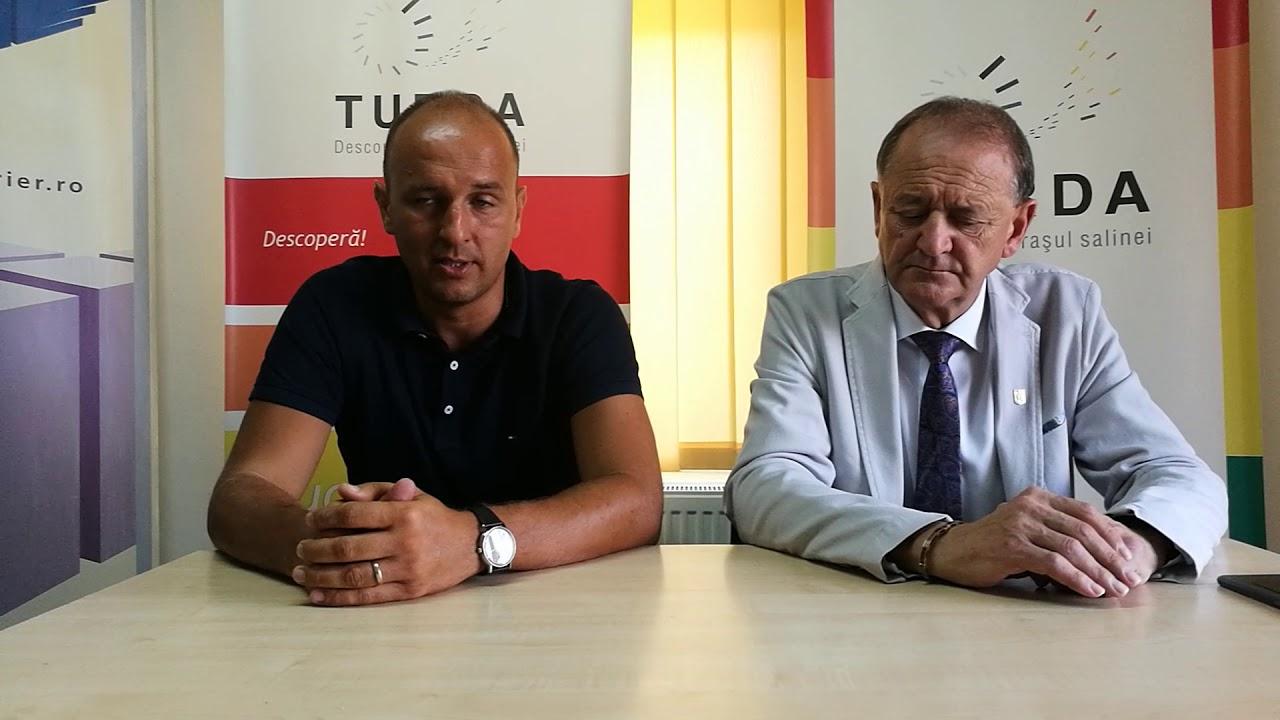 Conferință de presă reunire Potaissa Turda (13.07.2018)