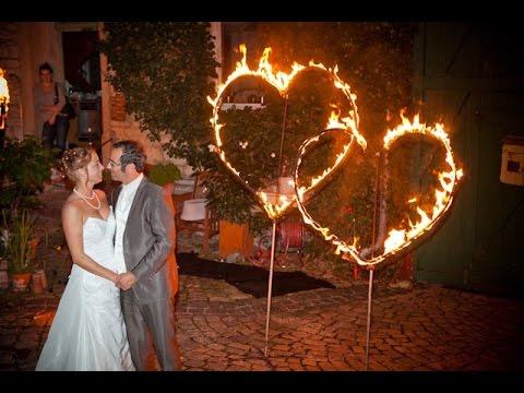 Relativ Brennende Herzen für Hochzeit * Feuershows von Tanzlicht K aus BJ79