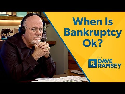 when-should-i-file-bankruptcy?---dave-ramsey-rant