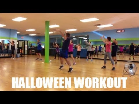 Halloween Workout Dance Fitness 2017