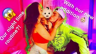 COUPLES NIGHT ROUTINE!! WITH OUR BABYY *emotional*