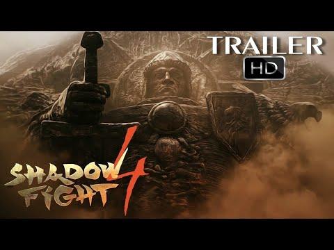 Shadow Fight 4(Шадоу Файт 4): Офицальный трейлер 2019