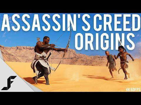 ASSASSIN'S CREED ORIGINS 4K 60FPS - 60 Minutes with