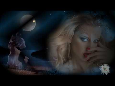 Луна и цветы - спутники влюблённых  Moon And Flowers Companions Of Lovers