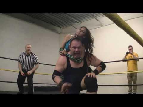 CZW Dojo Wars II: DJ Hyde & Kimber Lee vs. David Starr & Brittany Blake INTERGENDER WRESTLING