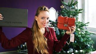 Новогодние подарки и покупки LV, Valentino, Pandora, Tom Ford, Chanel(В этом видео я покажу, что получила в подарок на Новый Год 2015 от мужа и близких людей, а также новые вещи,..., 2015-01-07T13:17:14.000Z)