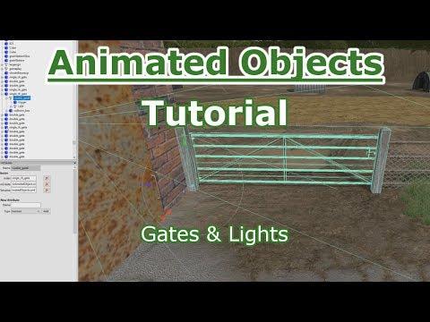 Farming Simulator 17 Animated Object Tutorial