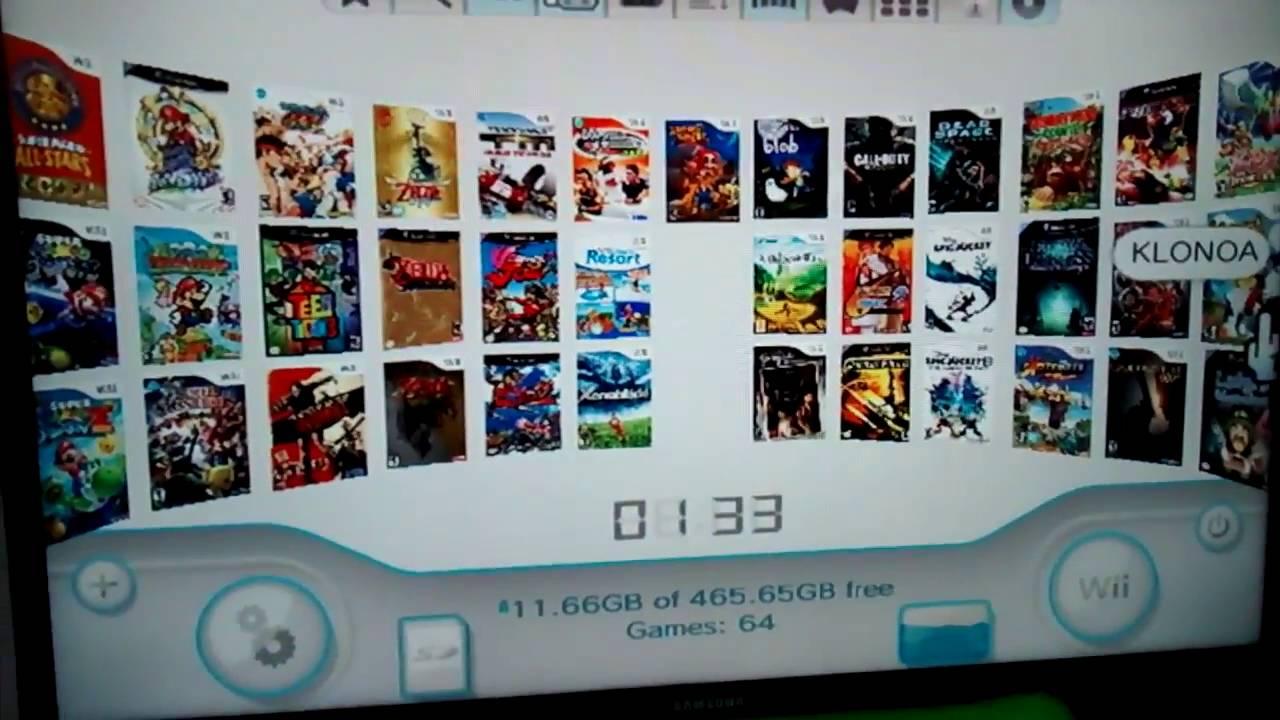 Nintendo Wii Usb Loader Gx Nintendont Set Com Os