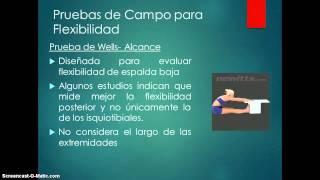 Flexibilidad prueba de la pantorrilla de