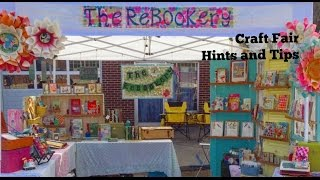 Craft Fair Video: Hints Tips & Tricks: Getting Started