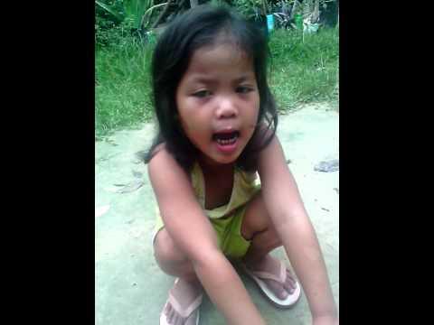 Small yeng singing ikaw in Roxas Palawan