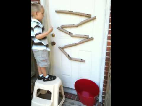 Paper Towel Roll Marble Run Youtube