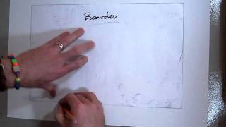 Drawing a Victorian House (Part 1) Layout with boarder and house template.MOV