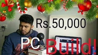 Rs.50,000 (50k) Gaming PC Build with Gameplay performance - TheBrironTech