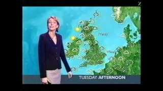 Repeat youtube video BBC Weather 21st February 2005: Snow Showers