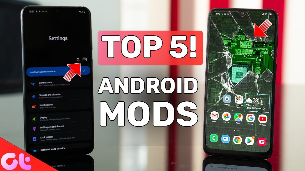 Top 5 Android MODS You MUST INSTALL | 5 Thomson 4K Android TV Giveaway | GT  Hindi