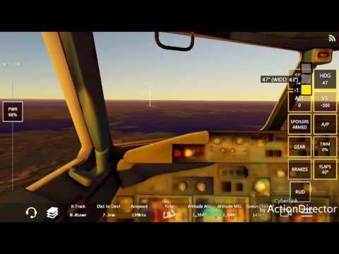 Landing in batam