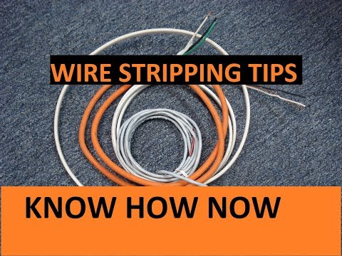how-to-remove-insulation-from-wire