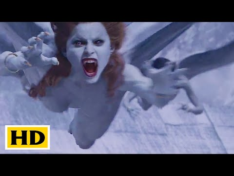Van Helsing fight Scene Vampire attack on  Transylvania Hindi (3/10) Spider Movieclips