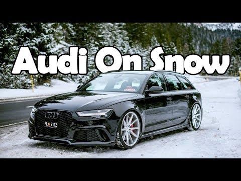 Audi Quattro On Snow Compilation