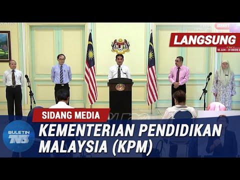 Penuh Sidang Media Menteri Kanan Pendidikan 10 Jun 2020 Youtube