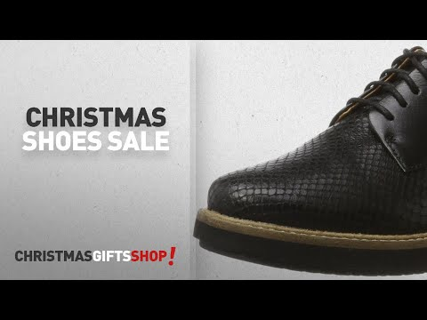 Clarks Women Shoes Christmas Sale: Clarks Women's Glick Darby Brogue, Black, 6 UK
