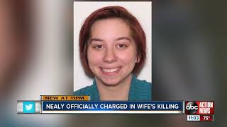 Nealy officially charges in wife's killing