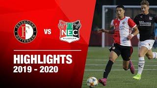 Highlights | Feyenoord O19 - N.E.C. O19 | 2019-2020