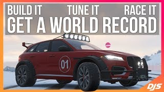 Forza Horizon 4 - THIS CAR IS A BEAST!! World Record Build and Tune!!