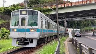 小田急1000形1051F(未更新車)各駅停車 箱根湯本行き 風祭駅付近通過