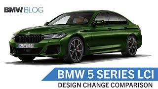 BMW 5 Series LCI Comparison
