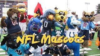 🏈 NFL All team mascots - (High Quality | 1080p) 🏈