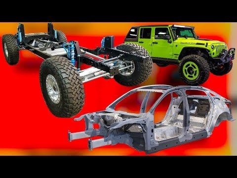 Как держатся наши автомобили, рама и несущий кузов, почему сейчас не строят легковые авто на раме