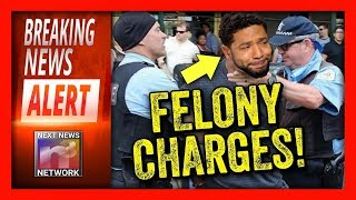 BREAKING NOW! FELONY CHARGES For Jussie Smollett, Seconds Later Media AGAIN Does The UNFORGIVABLE