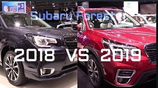 2018 Subaru Forester VS 2019 Subaru Forester - Whats The Difference?