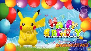 Pikachu singing Happy Birthday song