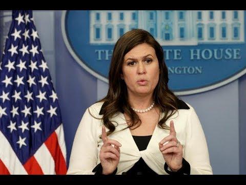 🔴 WATCH LIVE: White House Press Briefing w/ Sarah Sanders - 3/12/18