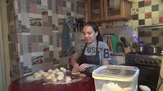 Утренние Сборы/ Пеку Пироги с Капустой и Повидлом/ Будни Многодетной Семьи/