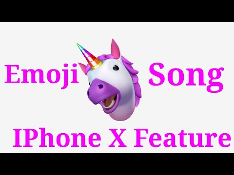 Iphone x new feature animoji song emoji song