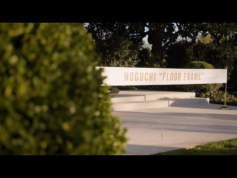 First Lady Melania Trump Unveils Isamu Noguchi Sculpture Installation in the White House Rose Garden