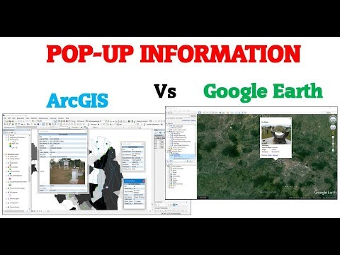 Menampilkan Informasi (Pop-Up) Pada ArcGIS Dan GoogleEarth