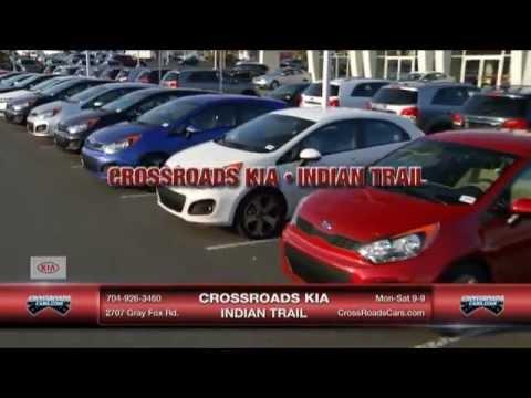 Crossroads Kia Indian Trail Optima Sorento 2 14 13 Youtube