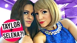 taylor and selena vlog takeover behind the scenes of new video