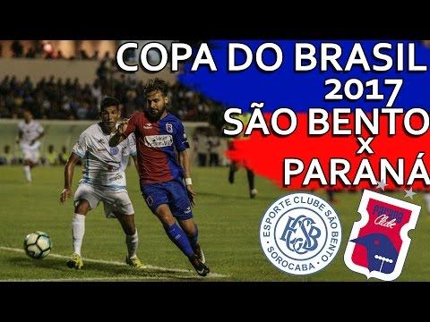 Gols São Bento 1 x 1 Paraná Clube - Primeira Fase da Copa do Brasil 2017 (08/02/2017)
