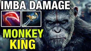 IMBA DAMAGE -Jerax Plays Monkey King - Dota 2